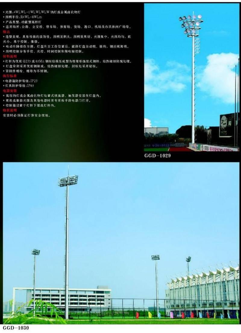 高中杆灯系列-10